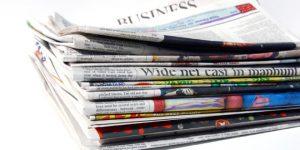 Tidningar o wellpapp