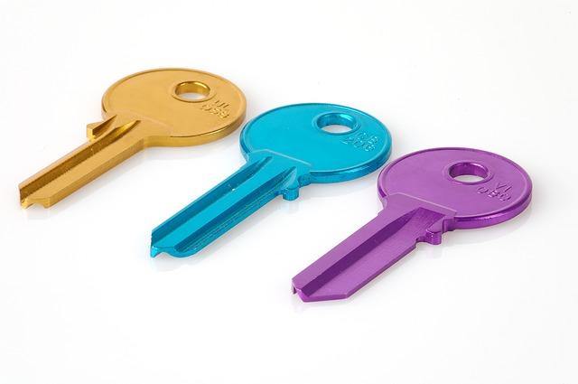 Upphittad nyckel