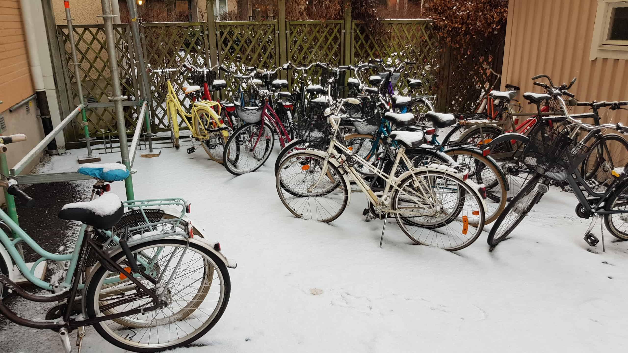 Flytta cyklar